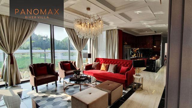 căn hộ panomax river villa:phòng khách