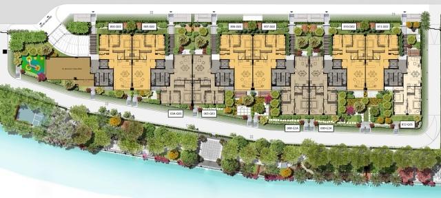 căn hộ panomax river villa:thiết kế