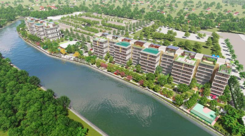 hạ tầng Panomax river villa:toàn cảnh