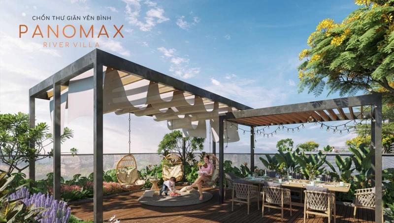 hạ tầng panomax river villa:nơi thư giãn