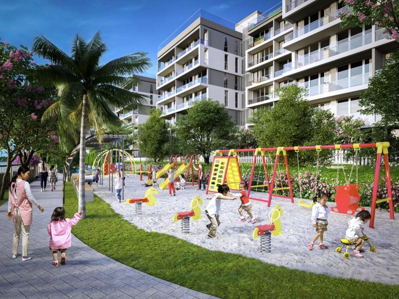 hạ tầng Panomax River Villa: khu vui chơi trẻ em