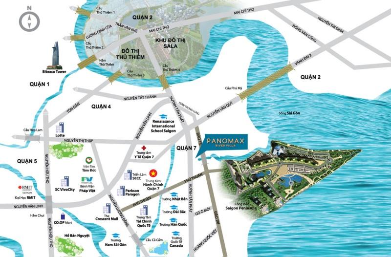 Vị trí Panomax River Villa:vị trí