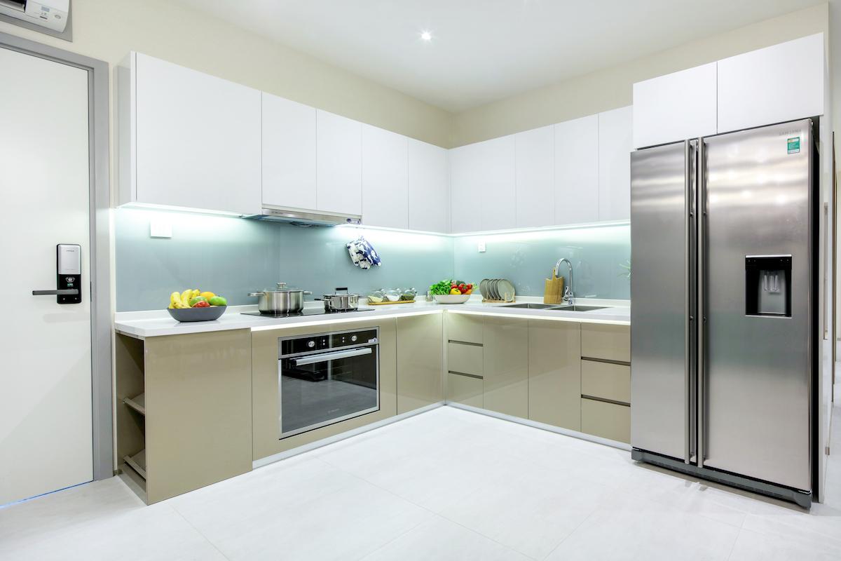 dự án Charmington iris:phòng bếp