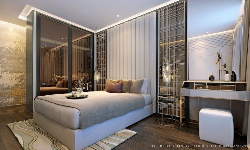 dự án charmington iris:phòng ngủ