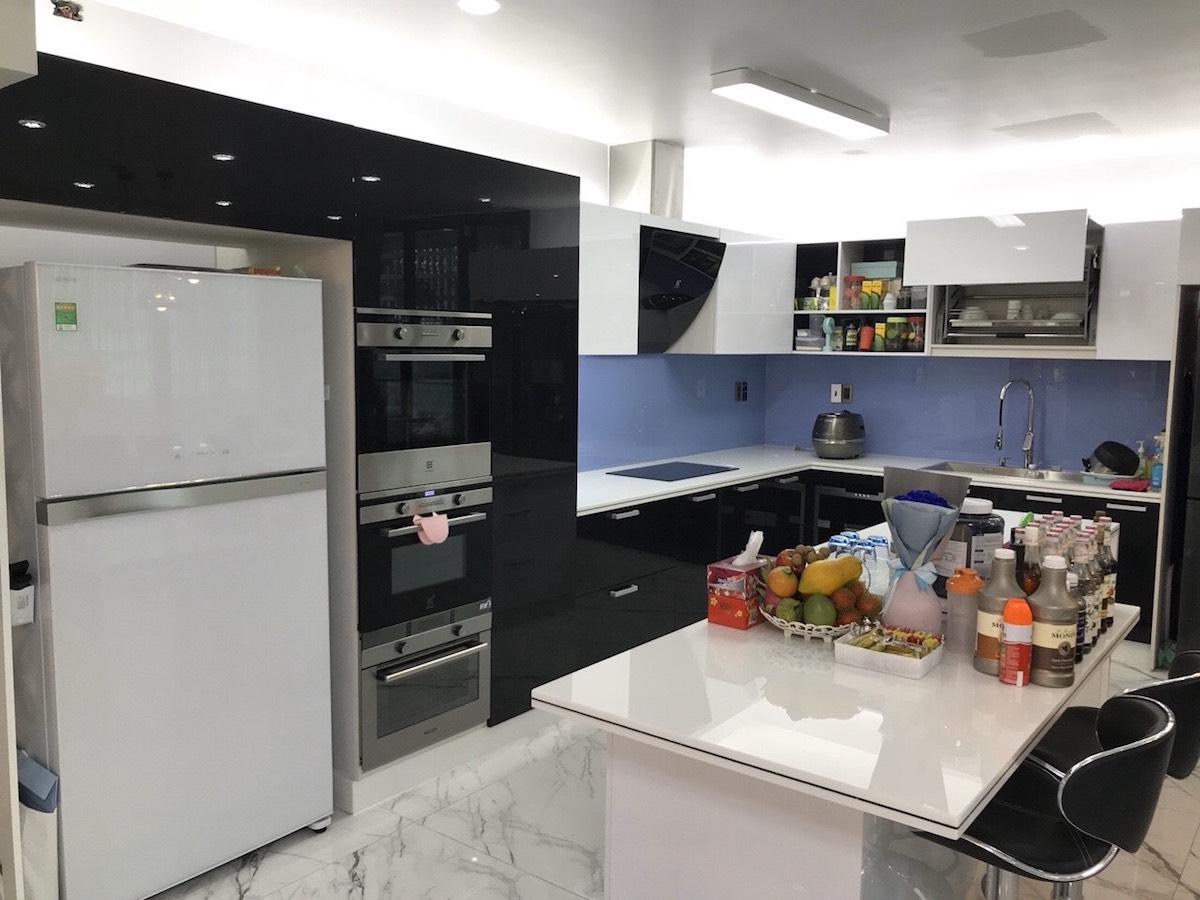 nội thất nhà bếp nhà phố thủ đức